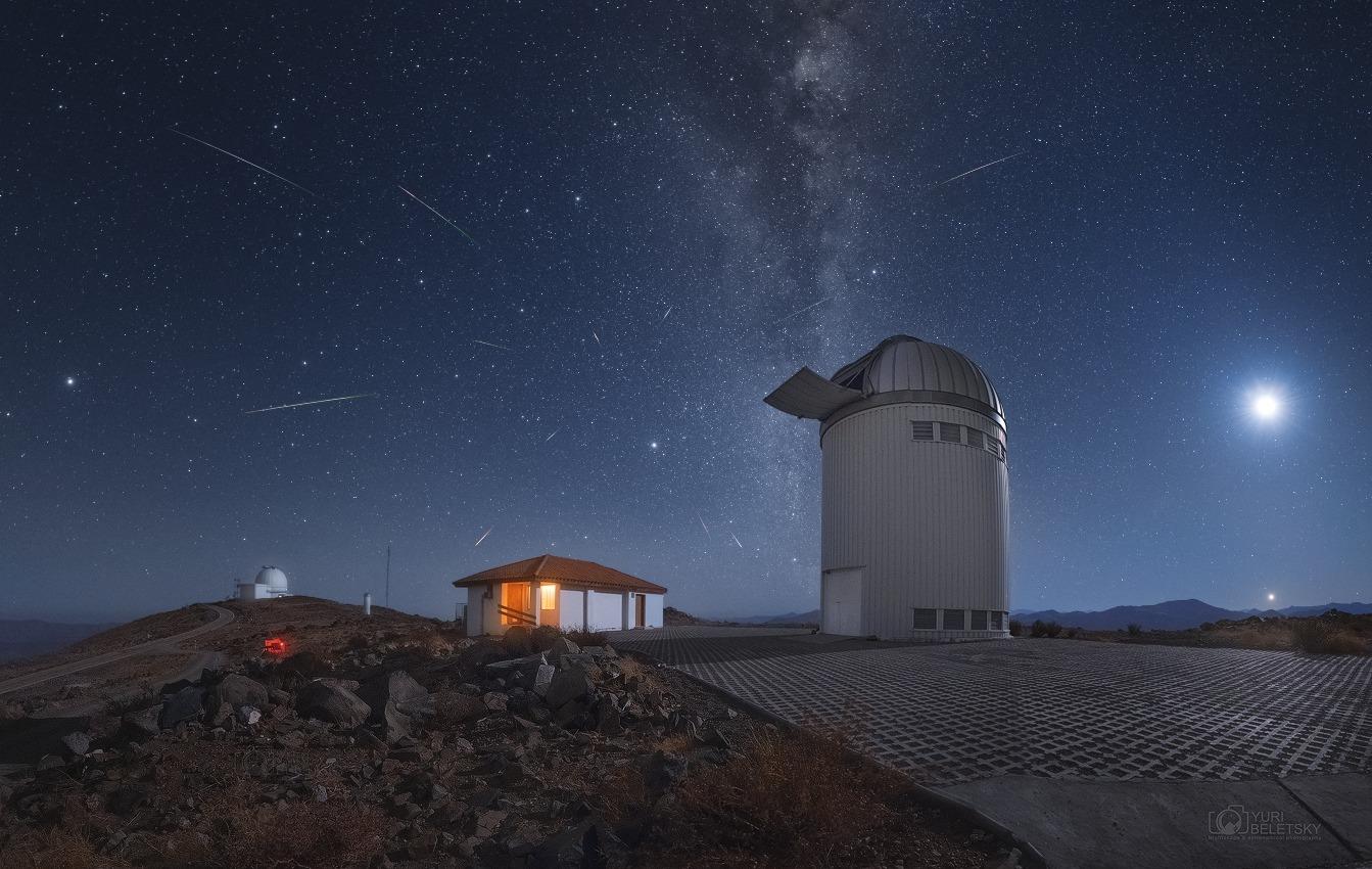 Lo sciame delle LIRIDI e altri eventi astronomici nel cielo di aprile