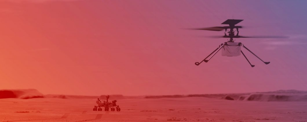 INGENUITY: storico volo di un drone terrestre su un altro pianeta